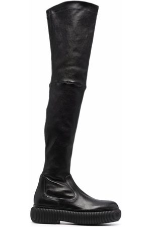 Lanvin Thigh-high leather boots