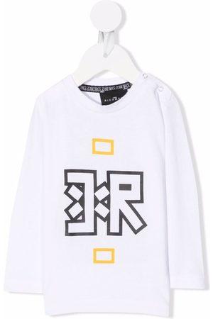 John Richmond Junior Baby Long Sleeve - Logo-print longsleeved T-shirt