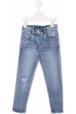Chiara Ferragni Girls Slim - Mid-rise slim-cut jeans