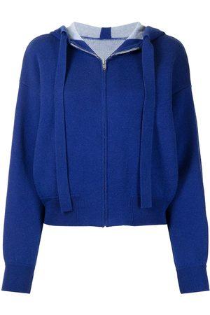 Onefifteen Zip-up drawstring hoodie