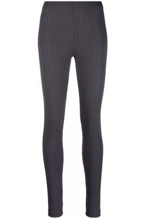 Styland Women Leggings - Ribbed-knit leggings