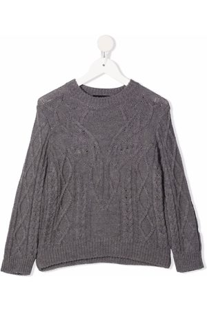 Dsquared2 Boys Jumpers - Cable-knit jumper