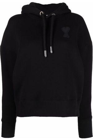 Ami Ami de Coeur drawstring hoodie