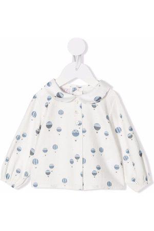 PAZ RODRIGUEZ Balloon-print blouse
