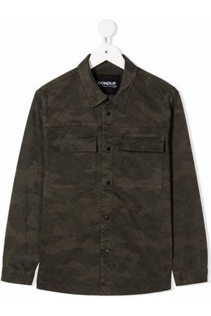 Dondup Camouflage button-up shirt