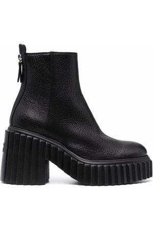 AGL ATTILIO GIUSTI LEOMBRUNI Women Heeled Boots - Ridged sole platform boots
