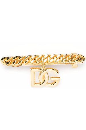 Dolce & Gabbana Women Hair Accessories - Logo embellished hair clip