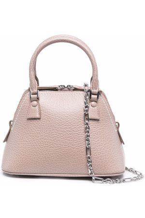 Maison Margiela Small leather tote bag
