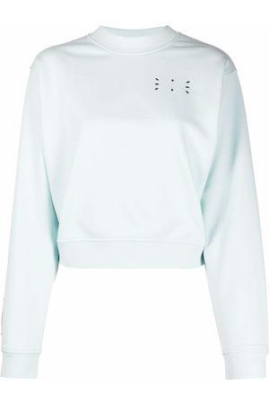 McQ Cropped logo sweatshirt