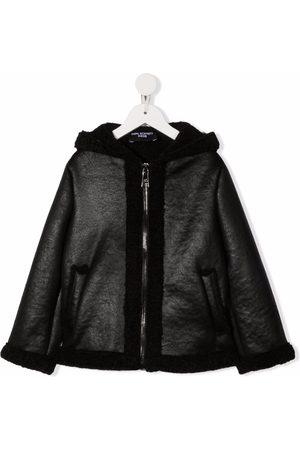 Neil Barrett Hooded zipped jacket