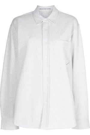 Alexander Wang Long-sleeve cotton shirt