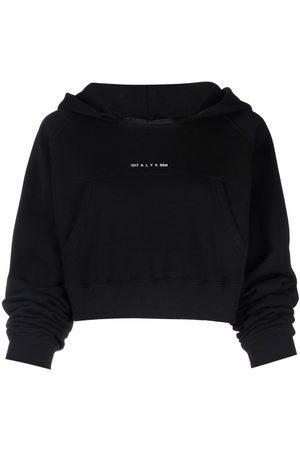 1017 ALYX 9SM Women Hoodies - Logo print square-neck hoodie