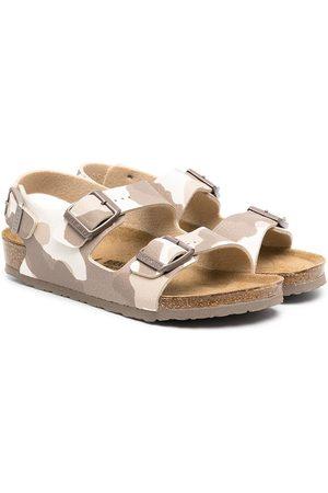Birkenstock Camouflage-print sandals