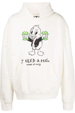 DOMREBEL Graphic-print pullover hoodie