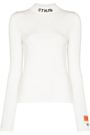 Heron Preston High-neck long-sleeve T-shirt