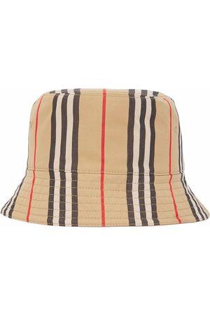 Burberry Women Hats - Icon Stripe bucket hat