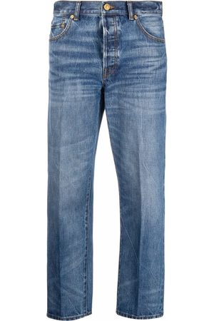 Tory Burch Women Jeans - Mid-rise cropped jeans