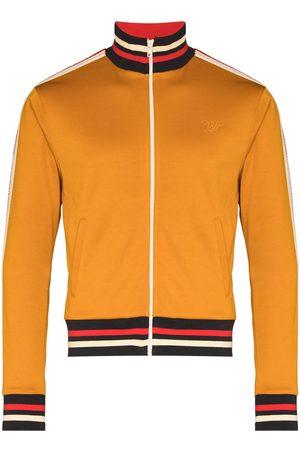 WALES BONNER Men Hoodies - Sunlight zip-up track jacket