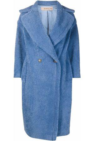 BLANCA Tuia double-breasted teddy coat