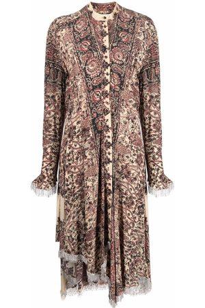 J.W.Anderson EMBELLISHED ASYMMETRIC SHIRT DRESS