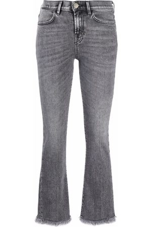 Pinko Brenda mid-rise cropped jeans