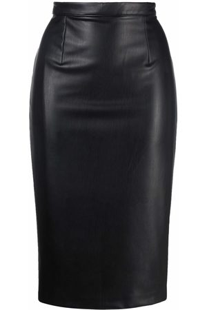 Styland Women Pencil Skirts - Faux-leather pencil skirt