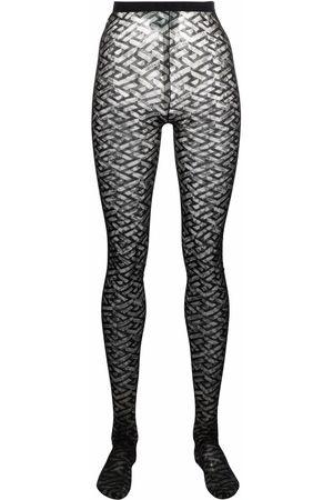 VERSACE Women Stockings - La Greca tights