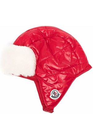 Moncler Logo patch padded hood