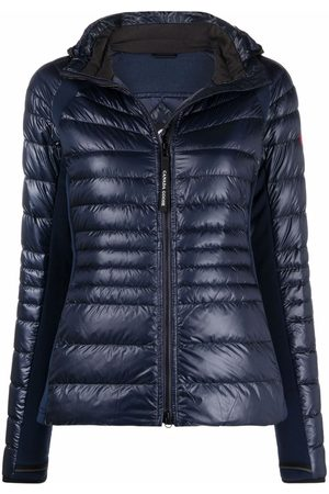 Canada Goose Fitted-waist puffer jacket