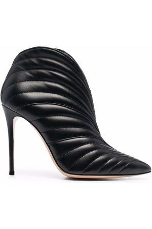 Gianvito Rossi Eiko leather heeled boots