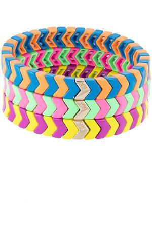 Roxanne Assoulin Friendship Brite set of three bracelets