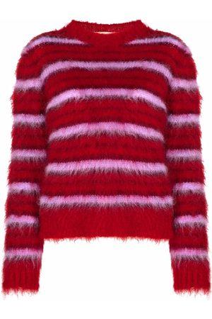 Marni Women Jumpers - Round-neck striped jumper