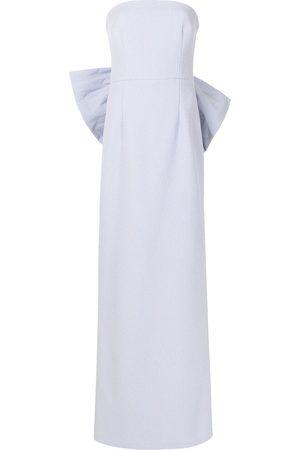 Rebecca Vallance Rosette Strapless gown