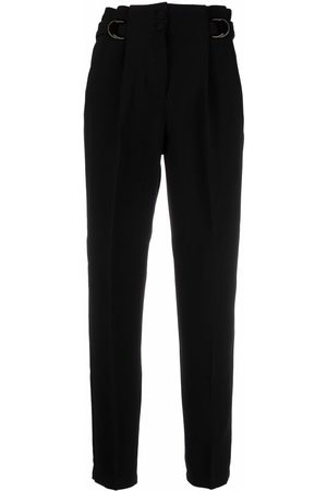 Pinko High waisted cropped trousers