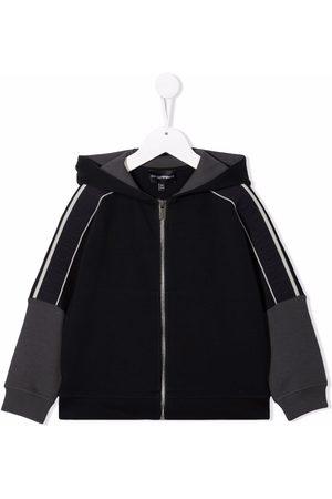 Emporio Armani Boys Bomber Jackets - Zipped hooded jacket