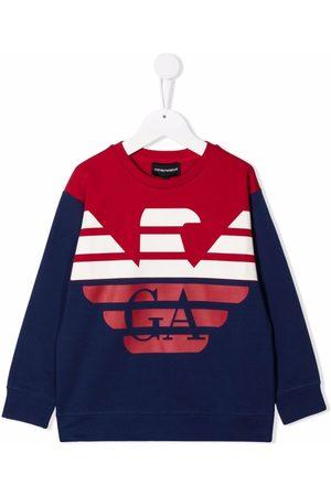 Emporio Armani Logo-print jumper
