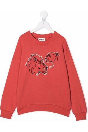 Kenzo Lion-print sweatshirt