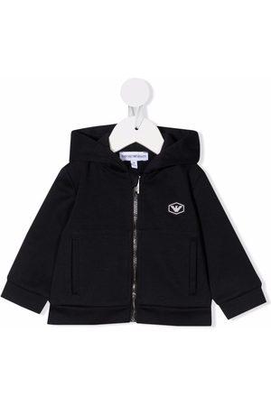 Emporio Armani Chest logo-print jacket