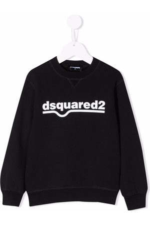 Dsquared2 Boys Sweatshirts - Logo print sweatshirt