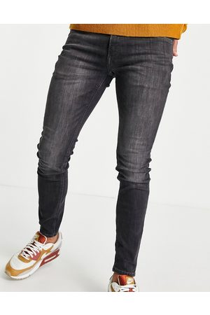 jack & jones Intelligence Liam skinny fit jeans in washed