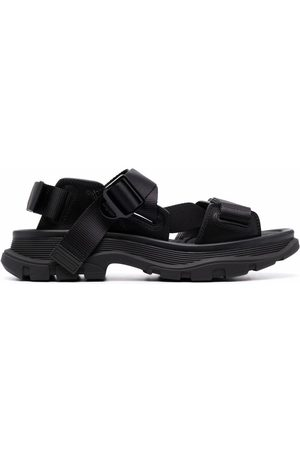 Alexander McQueen Tread flat sandals