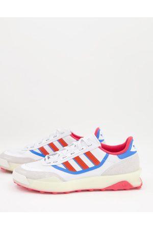 adidas Originals Men Sneakers - Indoor Court trainers in with red detail