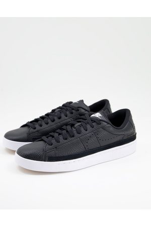 Nike Men Boots - Blazer Low X Premium trainers in leather
