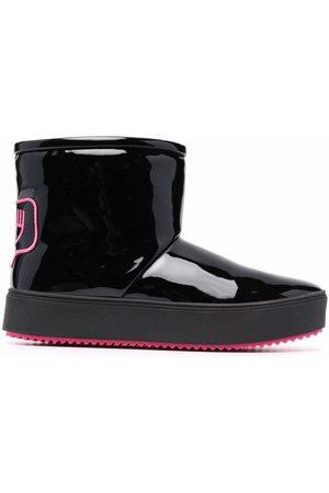 Chiara Ferragni Round-toe boots