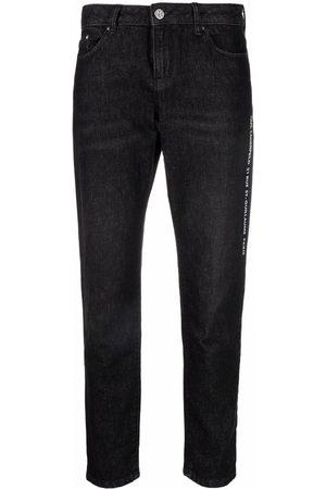 Karl Lagerfeld Essential slim-fit ankle jeans