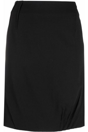Dior Women Skirts - 2006 pre-owned dart-detailing high-waisted skirt