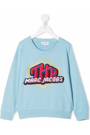 The Marc Jacobs Logo-embroidered sweatshirt