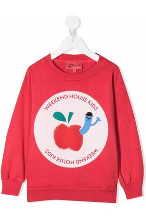 Weekend House Kids Boys Sweatshirts - Logo-printed sweatshirt