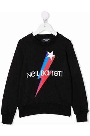 Neil Barrett Boys Sweatshirts - Logo-print sweatshirt