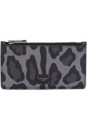 Dolce & Gabbana Leopard-print cardholder wallet